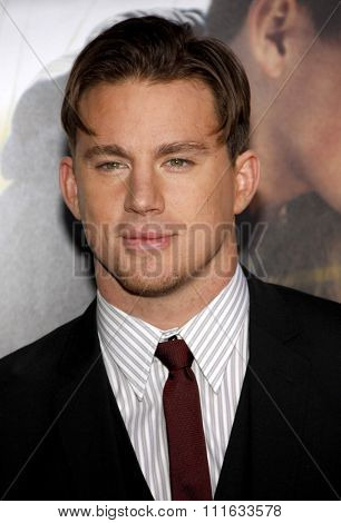 Channing Tatum at the World Premiere of