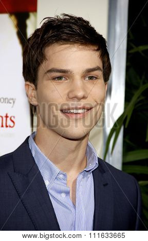 Nick Krause at the Los Angeles Premiere of