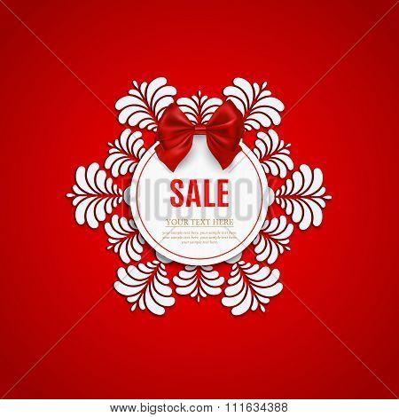 Christmas sale design template. Christmas sale. New year sale