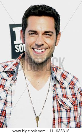 Zachary Levi at the 2011 VH1 Do Something Awards held at the Palladium Hollywood in Los Angeles, California, United States on August 14, 2011.