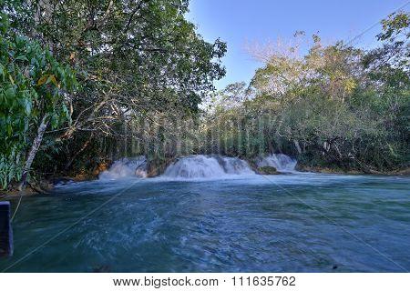 Bonito Brazil waterfall