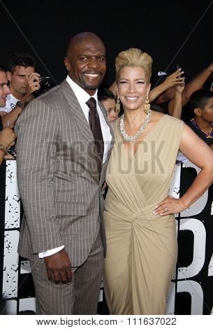 LOS ANGELES, CALIFORNIA - August 15, 2012. Terry Crews at the Los Angeles premiere of 'The Expendables 2' held at the Grauman's Chinese Theatre, Los Angeles.