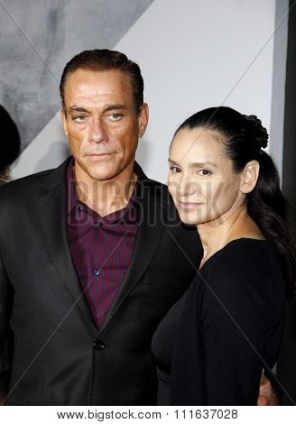 Jean-Claude Van Damme at the Los Angeles premiere of