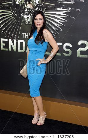 Christa Campbell at the Los Angeles premiere of
