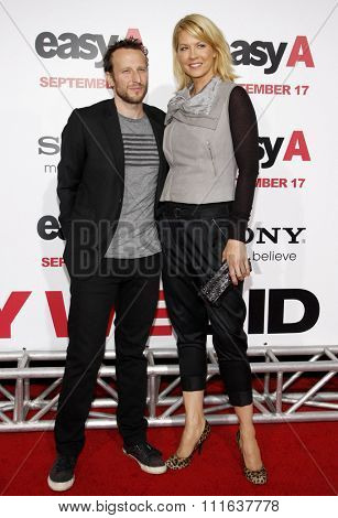 Bodhi Elfman and Jenna Elfman at the Los Angeles Premiere of