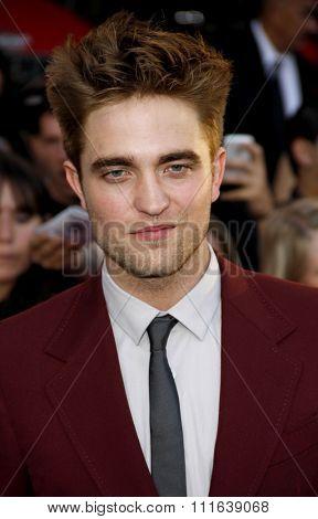 Robert Pattinson at