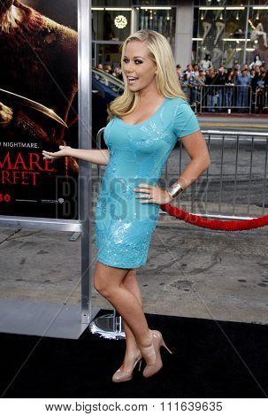 HOLLYWOOD, CALIFORNIA - April 27, 2010. Kendra Wilkinson at the World premiere of