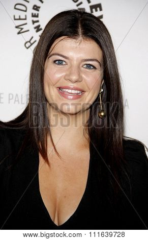 BEVERLY HILLS, CALIFORNIA - August 29, 2011. Casey Wilson at the Paley Center For Media Presents An Evening With