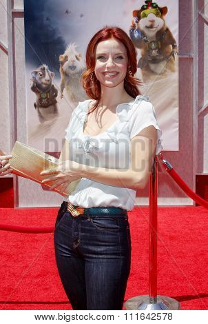 HOLLYWOOD, CALIFORNIA - July 19, 2009. Kelli Garner at the Disney World Premiere of