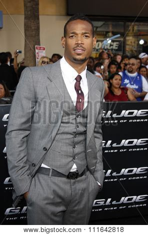 06/08/2009 - Hollywood - Marlon Wayans at the Los Angeles Premiere of