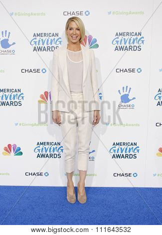 Jenna Elfman at the 2nd Annual American Giving Awards held at the Pasadena Civic Auditorium in Los Angeles, California, United States on December 7, 2012.
