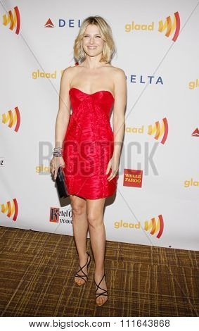 Ali Larter at the 23rd Annual GLAAD Media Awards held at the Westin Bonaventure Hotel in Los Angeles, California, United States on April 21, 2012.