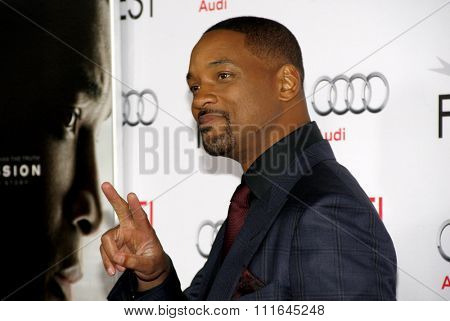 Will Smith at the AFI FEST 2015 Centerpiece Gala Premiere Of Columbia Pictures'