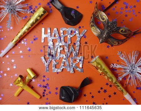 Happy New Year Party Decorations