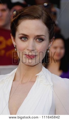 HOLLYWOOD, CALIFORNIA - January 23, 2010. Emily Blunt at the Los Angeles premiere of