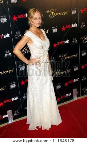 Jeri Ryan at the 37th Annual Gracie Awards Gala held at the Beverly Hilton Hotel in Los Angeles, USA on May 23, 2012.