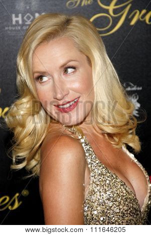 Angela Kinsey at the 37th Annual Gracie Awards Gala held at the Beverly Hilton Hotel in Los Angeles, California, United States on May 22, 2012.