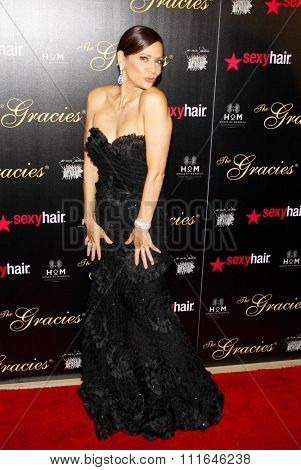 LOS ANGELES, CALIFORNIA - May 23, 2012. Constance Marie at the 37th Annual Gracie Awards Gala held at the Beverly Hilton Hotel, Los Angeles.