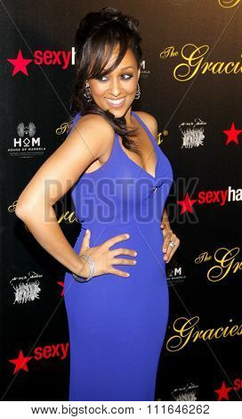 Tia Mowry at the 37th Annual Gracie Awards Gala held at the Beverly Hilton Hotel in Los Angeles, California, United States on May 22, 2012.