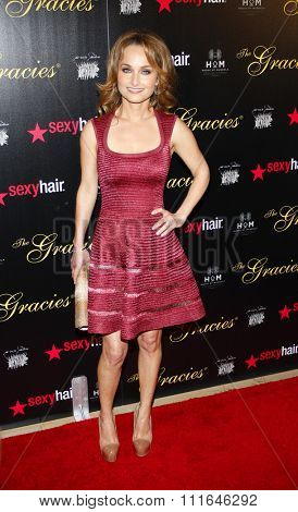 LOS ANGELES, CALIFORNIA - May 23, 2012. Giada de Laurentiis at the 37th Annual Gracie Awards Gala held at the Beverly Hilton Hotel, Los Angeles.