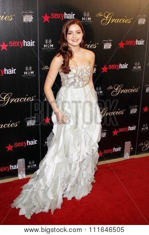 LOS ANGELES, CALIFORNIA - May 23, 2012. Ariel Winter at the 37th Annual Gracie Awards Gala held at the Beverly Hilton Hotel, Los Angeles.