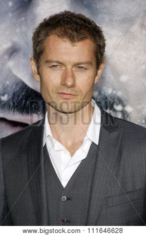 LOS ANGELES, CALIFORNIA - January 11, 2012. James Badge Dale at the Los Angeles premiere of