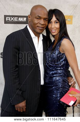 CULVER CITY, CALIFORNIA - June 5, 2010. Mike Tyson at the 2010 Guys Choice Awards held at the Sony Pictures Studios, Culver City.