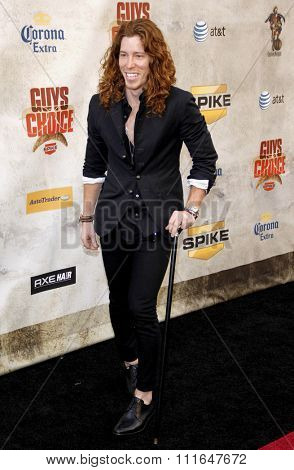 CULVER CITY, CALIFORNIA - June 5, 2010. Shaun White at the 2010 Guys Choice Awards held at the Sony Pictures Studios, Culver City.
