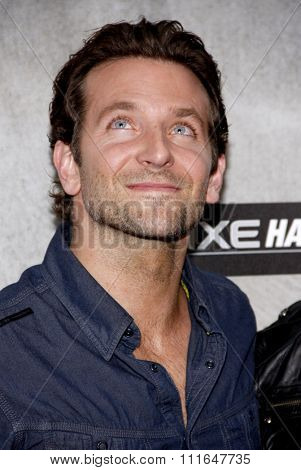 Bradley Cooper at the 2010 Guys Choice Awards held at the Sony Pictures Studios in Culver City, California, United States on June 5, 2010.