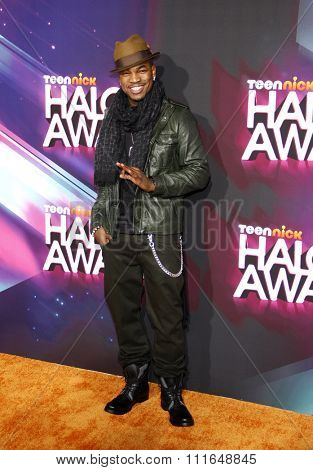 LOS ANGELES, CALIFORNIA - November 17, 2012. Ne-Yo at the 2012 Halo Awards held at the Hollywood Palladium in Los Angeles.