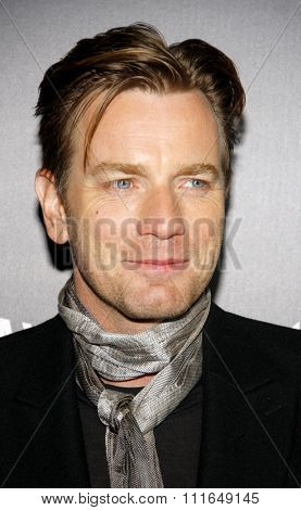HOLLYWOOD, CALIFORNIA - January 5, 2012. Ewan McGregor at the Los Angeles premiere of