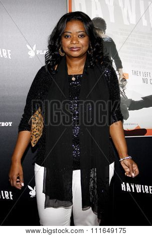 HOLLYWOOD, CALIFORNIA - January 5, 2012. Octavia Spencer at the Los Angeles premiere of