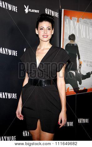 Natascha Berg at the Los Angeles Premiere of