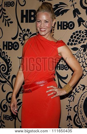 WEST HOLLYWOOD, CALIFORNIA - September 20, 2009. Maria Bello at the HBO POST EMMY Party held at the Pacific Design Center, West Hollywood, Los Angeles.