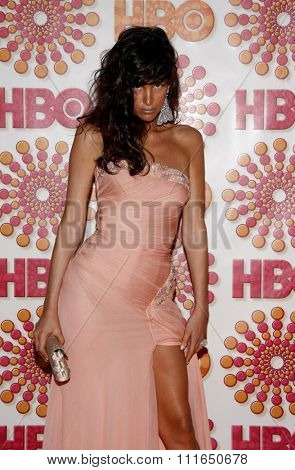 WEST HOLLYWOOD, CALIFORNIA - September 18, 2011. Paz de la Huerta at the HBO's 2011 Emmy After Party held at the Pacific Design Center, Los Angeles.