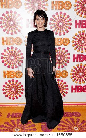 WEST HOLLYWOOD, CALIFORNIA - September 18, 2011. Lena Heady at the HBO's 2011 Emmy After Party held at the Pacific Design Center, Los Angeles.