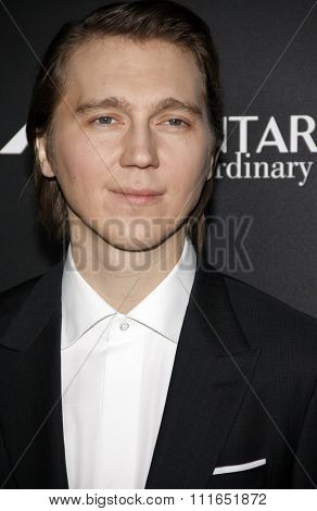 Paul Dano at the Los Angeles premiere of 'Youth' held at the DGA Theatre in Hollywood, USA on November 17, 2015.