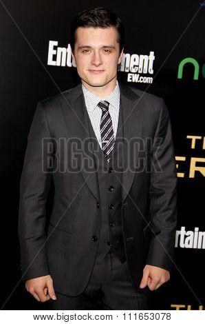 LOS ANGELES, CALIFORNIA - March 12, 2012. Josh Hutcherson at the Los Angeles premiere of