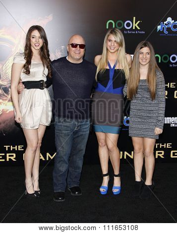 LOS ANGELES, CALIFORNIA - March 12, 2012. Michael Chiklis at the Los Angeles premiere of