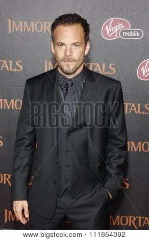 LOS ANGELES, CALIFORNIA - November 7, 2011. Stephen Dorff at the World premiere of