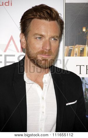 Ewan McGregor at the 2012 AFI Fest Special screening of