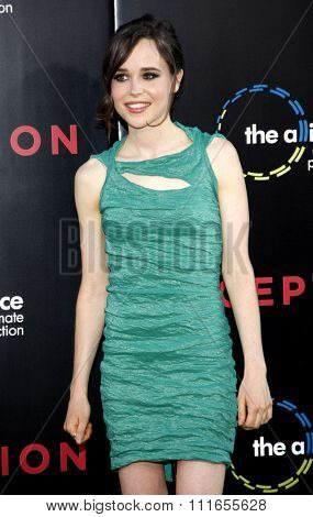 Ellen Page at the Los Angeles Premiere of