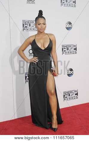 Christina Milian at the 2015 American Music Awards held at the Microsoft Theater in Los Angeles, USA on November 22, 2015.