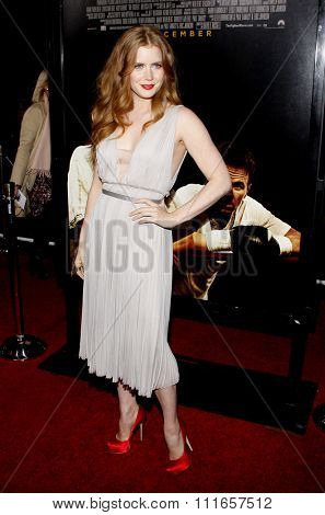 HOLLYWOOD, CALIFORNIA - December 6, 2010. Amy Adams at the Los Angeles premiere of