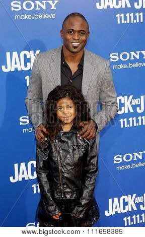 Wayne Brady at the World Premiere of