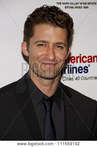 Matthew Morrison at the Taste for a Cure held at the PBeverly Wilshire Hotel in Los Angeles, California, United States on April 15, 2011.