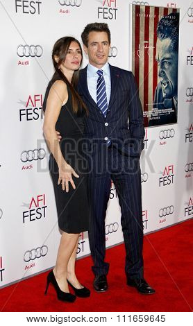 HOLLYWOOD, CALIFORNIA - November 3, 2011. Dermot Mulroney at the AFI Fest 2011 Opening Night Gala World Premiere Of