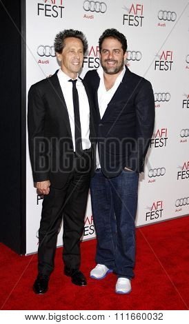 Brett Ratner and Brian Grazer at the AFI Fest 2011 Opening Night Gala World Premiere Of
