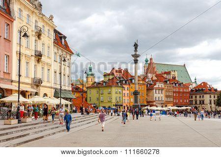 Warsaw. Royal Square.