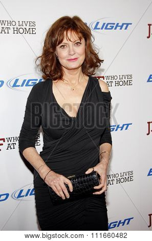 HOLLYWOOD, CALIFORNIA - March 7, 2012. Susan Sarandon at the Los Angeles premiere of